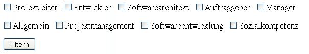 Filter Kategorie